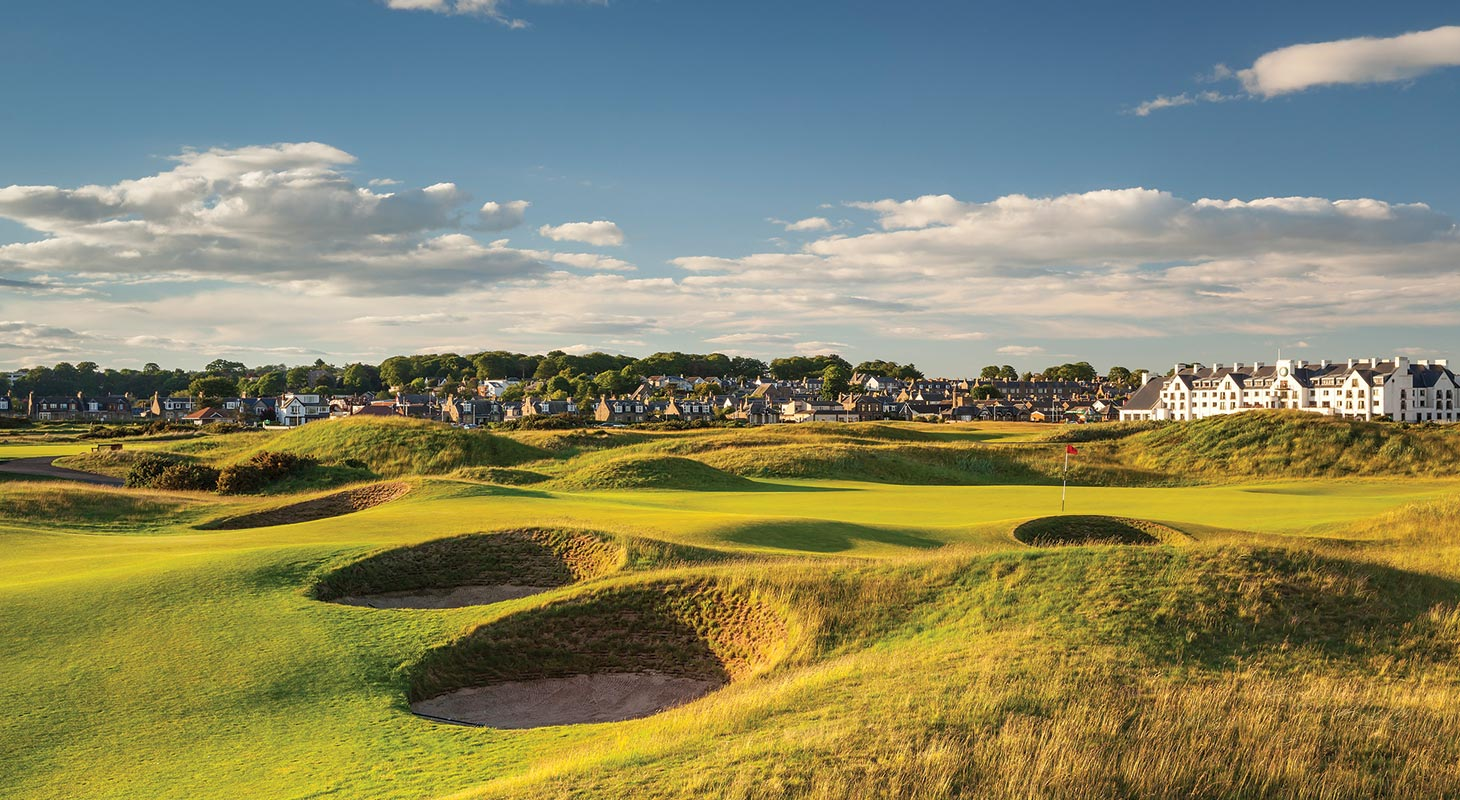 Book a memorable Scotland links golf vacation package and play the championship courses.