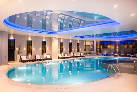 Gleneagles hotel spa scotland for golf for Hotels with swimming pools in scotland