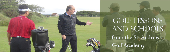 St Andrews Golf Academy - The Professionals
