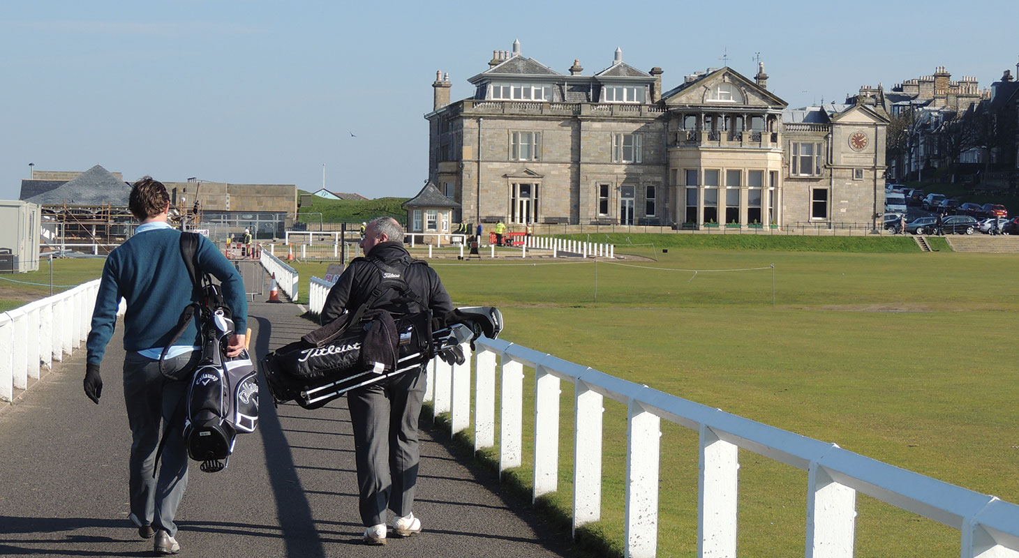 Old Course Single Golfers