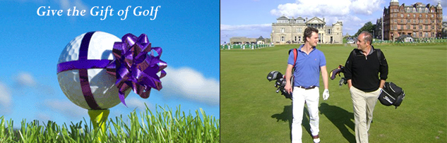 Scotland for Golf: Golf Gift Vouchers: Golf Vouchers: Learn from a PGA Pro