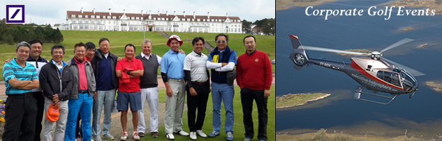 Scotland for Golf: Corporate Golf Days: Corporate Golf Events