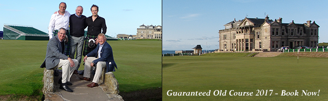 Scotland Golf Vacations | Scotland Golf Tours | Old Course Tee Times | Golf Academy & Vouchers