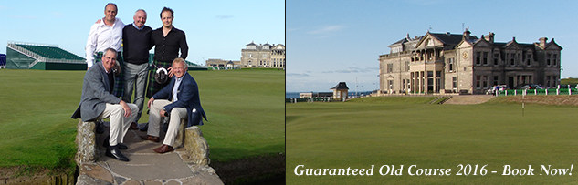 Scotland for Golf: Old Course tee times: Scotland Golf Tours